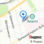 СеверПромСнаб на карте Санкт-Петербурга