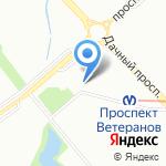 Платежный терминал на карте Санкт-Петербурга