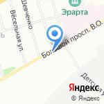 Ризома на карте Санкт-Петербурга