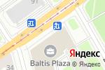 Схема проезда до компании Т-Сервис в Санкт-Петербурге