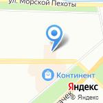 Друг на карте Санкт-Петербурга