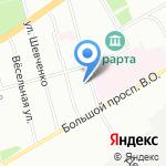 РЕСЭНЕРГО на карте Санкт-Петербурга