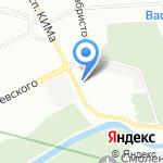 Вин Чунь Стихия на карте Санкт-Петербурга