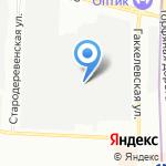 Мультиграфик на карте Санкт-Петербурга