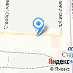 Литмарк на карте Санкт-Петербурга