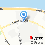М1 на карте Санкт-Петербурга