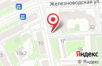 Схема проезда до компании Супер А в Санкт-Петербурге