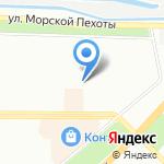 Веснушка на карте Санкт-Петербурга