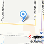 АИТ-СПб на карте Санкт-Петербурга