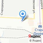 Тау на карте Санкт-Петербурга
