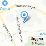 Эксклюзив Стиль на карте Санкт-Петербурга