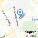 Триумф СПБ на карте Санкт-Петербурга