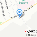 Противотуберкулезный диспансер №2 на карте Санкт-Петербурга