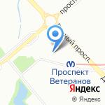 Предметы старины на карте Санкт-Петербурга