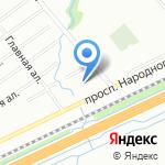 Автостолица на карте Санкт-Петербурга