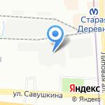 ОптимаСтоун на карте Санкт-Петербурга