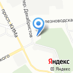 Пожарная часть №36 на карте Санкт-Петербурга