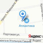 Каре на карте Санкт-Петербурга