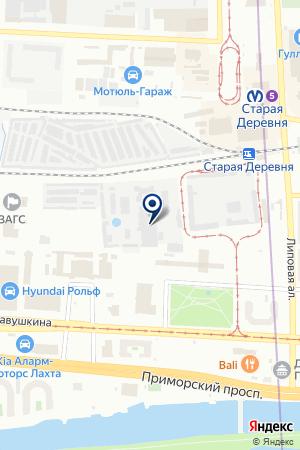 ПФ Контактная сварка на карте Санкт-Петербурга
