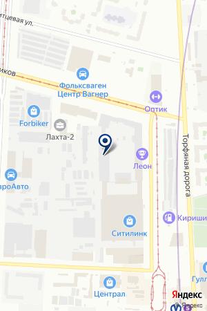 СТРОИТЕЛЬНАЯ КОМПАНИЯ НВК на карте Санкт-Петербурга