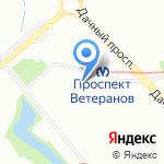 Всё-всё на карте Санкт-Петербурга