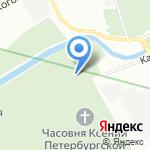Храм Смоленской иконы Божией Матери на карте Санкт-Петербурга