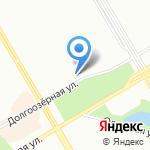 Буревестник на карте Санкт-Петербурга