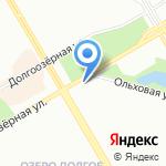 Рама на карте Санкт-Петербурга