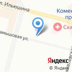 Эстель на карте Санкт-Петербурга