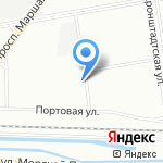 Путиловский на карте Санкт-Петербурга