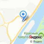 Ленинградская ореховая фабрика на карте Санкт-Петербурга