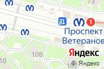 Схема проезда до компании Магазин алкогольной и табачной продукции в Санкт-Петербурге