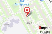 Схема проезда до компании Новая высота в Санкт-Петербурге