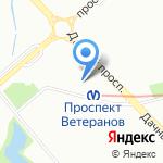 Бабушкины пироги на карте Санкт-Петербурга