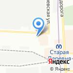 Антарус на карте Санкт-Петербурга