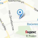Авто-Партнер на карте Санкт-Петербурга