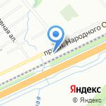 Кузов на карте Санкт-Петербурга