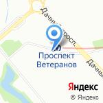 Астория на карте Санкт-Петербурга