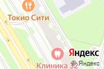 Схема проезда до компании РусИнвестКом в Санкт-Петербурге