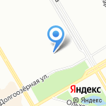 Дельфинчик на карте Санкт-Петербурга