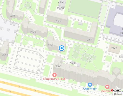 Товарищество собственников жилья «Партнерство» на карте Санкт-Петербурга