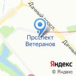 Агент на карте Санкт-Петербурга