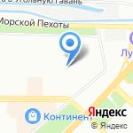 Детский сад №45 на карте Санкт-Петербурга