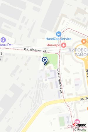 АВТОМАСТЕРСКАЯ МОБИЛЬ-СЕРВИС на карте Кронштадта