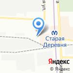 Фермерский на карте Санкт-Петербурга