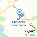 Табак`ов на карте Санкт-Петербурга
