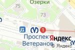 Схема проезда до компании Магазин товаров для детей в Санкт-Петербурге