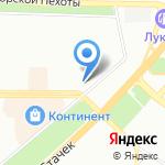 Райт на карте Санкт-Петербурга
