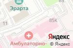 Схема проезда до компании Покровский банк стволовых клеток в Санкт-Петербурге