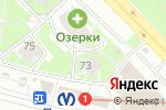 Схема проезда до компании Радуга звуков в Санкт-Петербурге